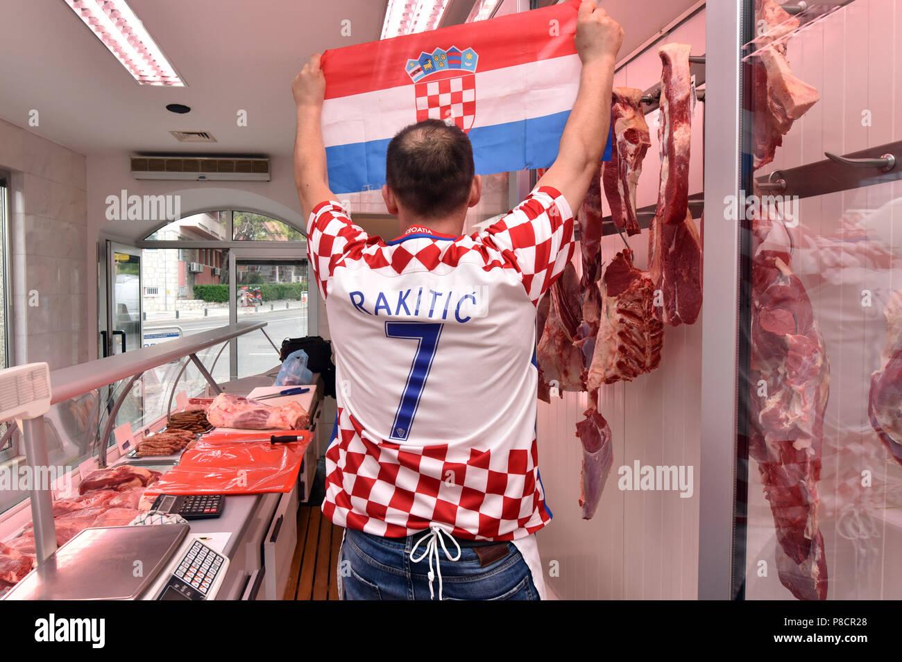 0abc4a4cc Croatian Jersey Stock Photos   Croatian Jersey Stock Images - Alamy