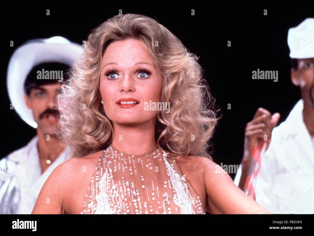 Can't Stop the Music (1982) Valerie Perrine, Randy Jones as the Cowboy     Date: 1980 Stock Photo