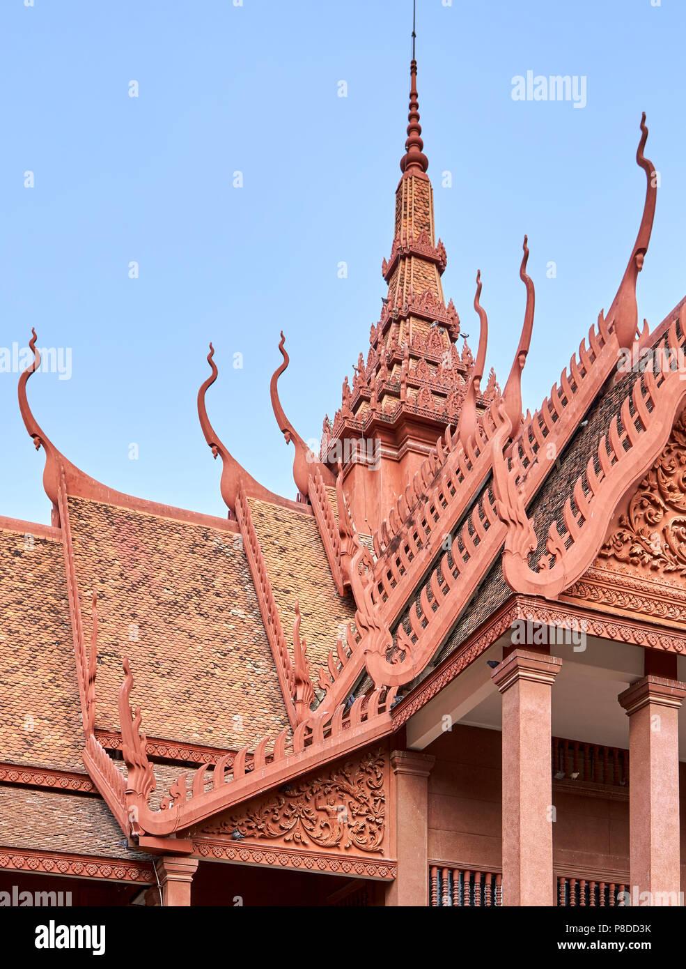 National Museum Phnom Penh, Cambodia - Stock Image