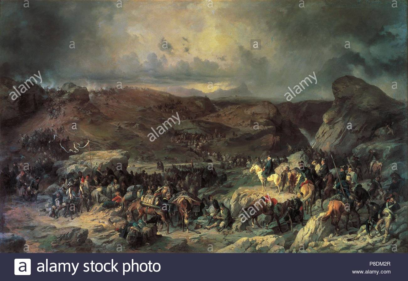 The legendary Suvorov. Crossing the Alps