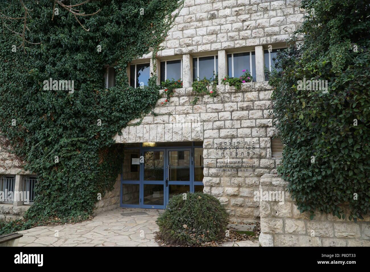 Hebrew University of Jerusalem, Givat Ram Campus - Stock Image