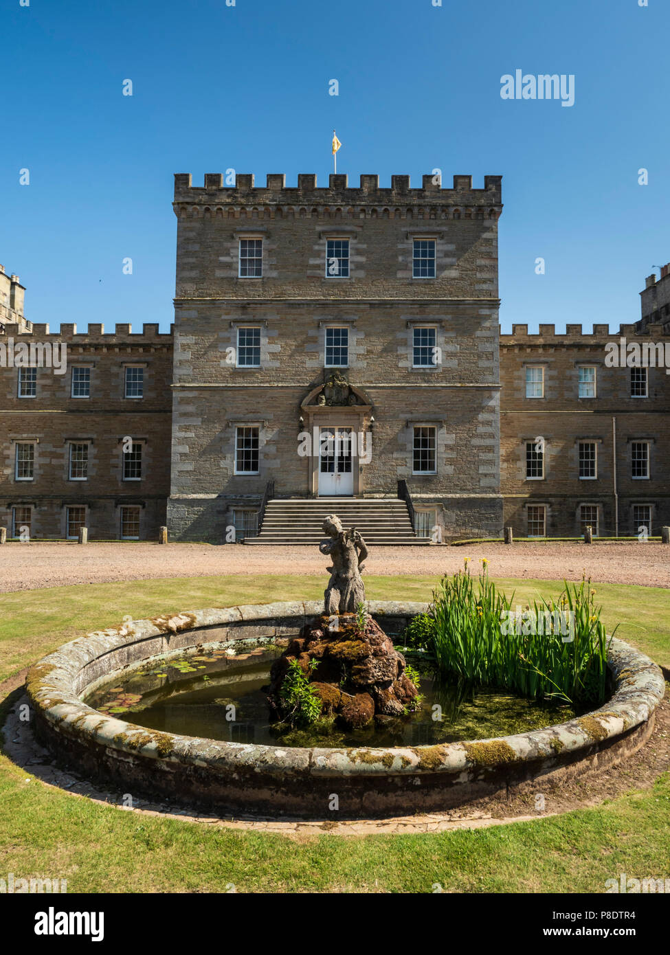 Mellerstain House, Scottish Borders home of the Earl of Haddington. - Stock Image