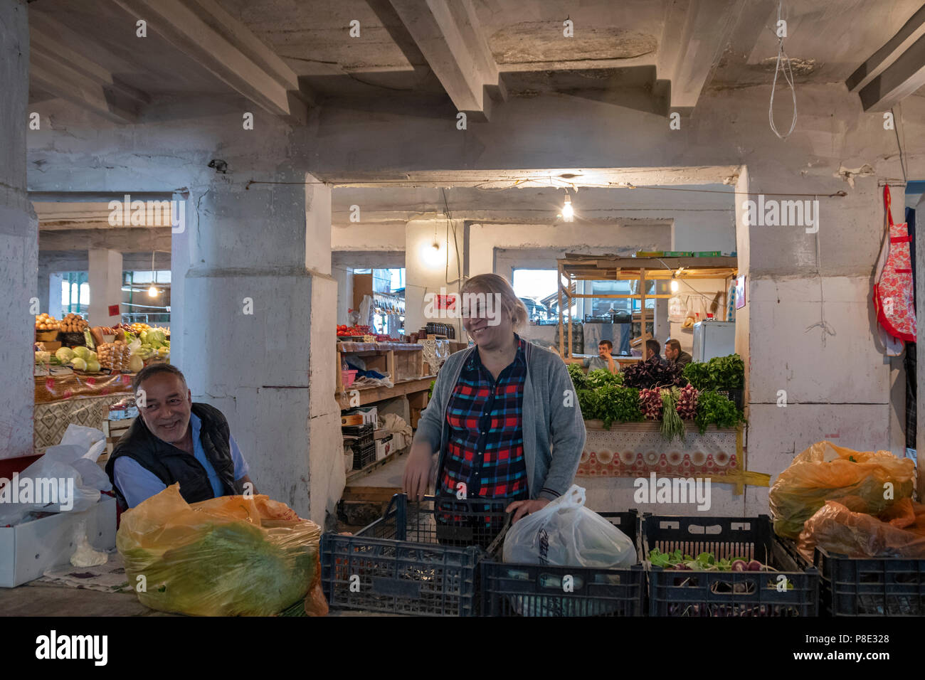 Teze Bazaar, Baku, Azerbaijan - Stock Image