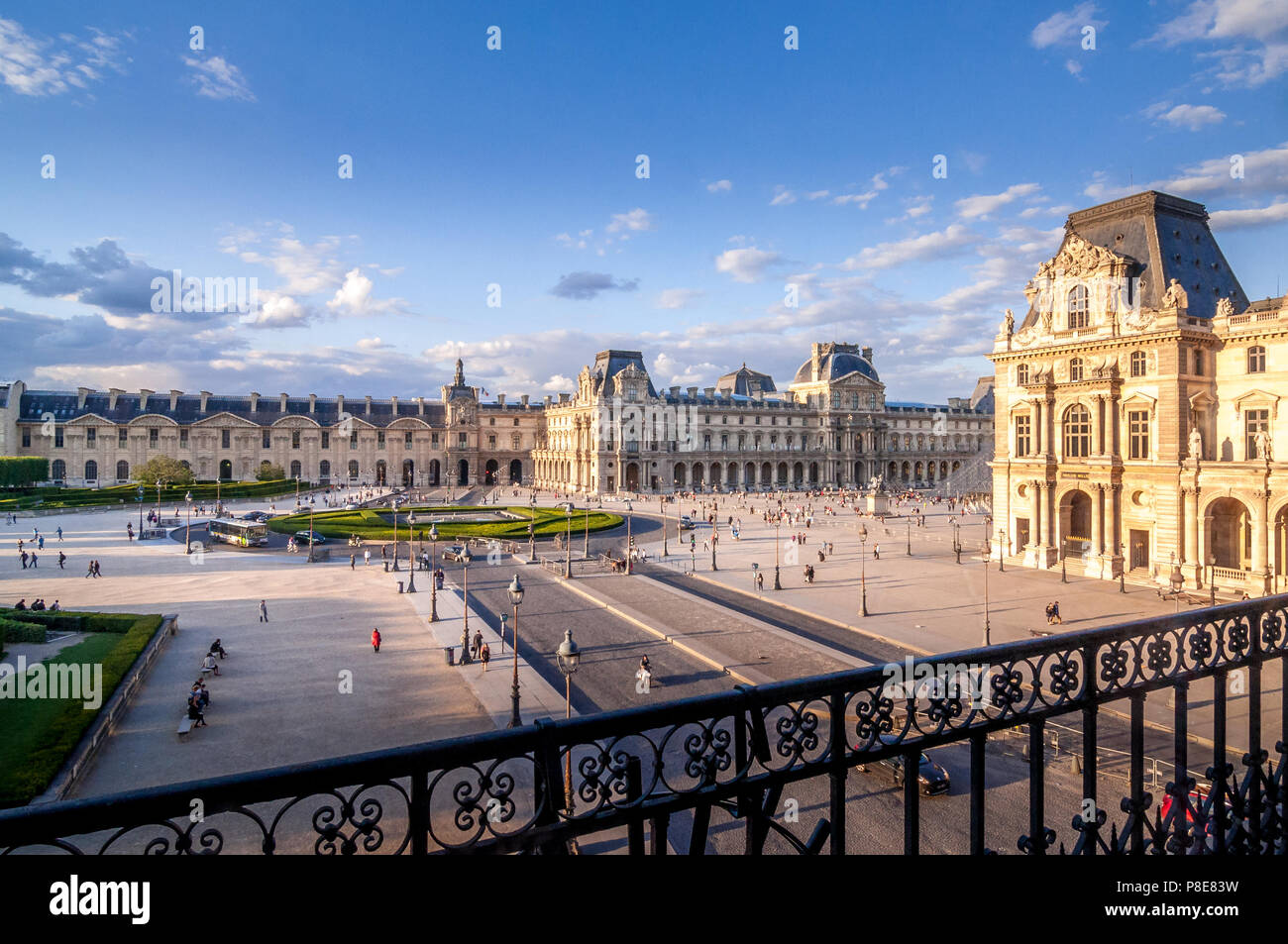 The Tuileries Garden in Paris, France. - Stock Image