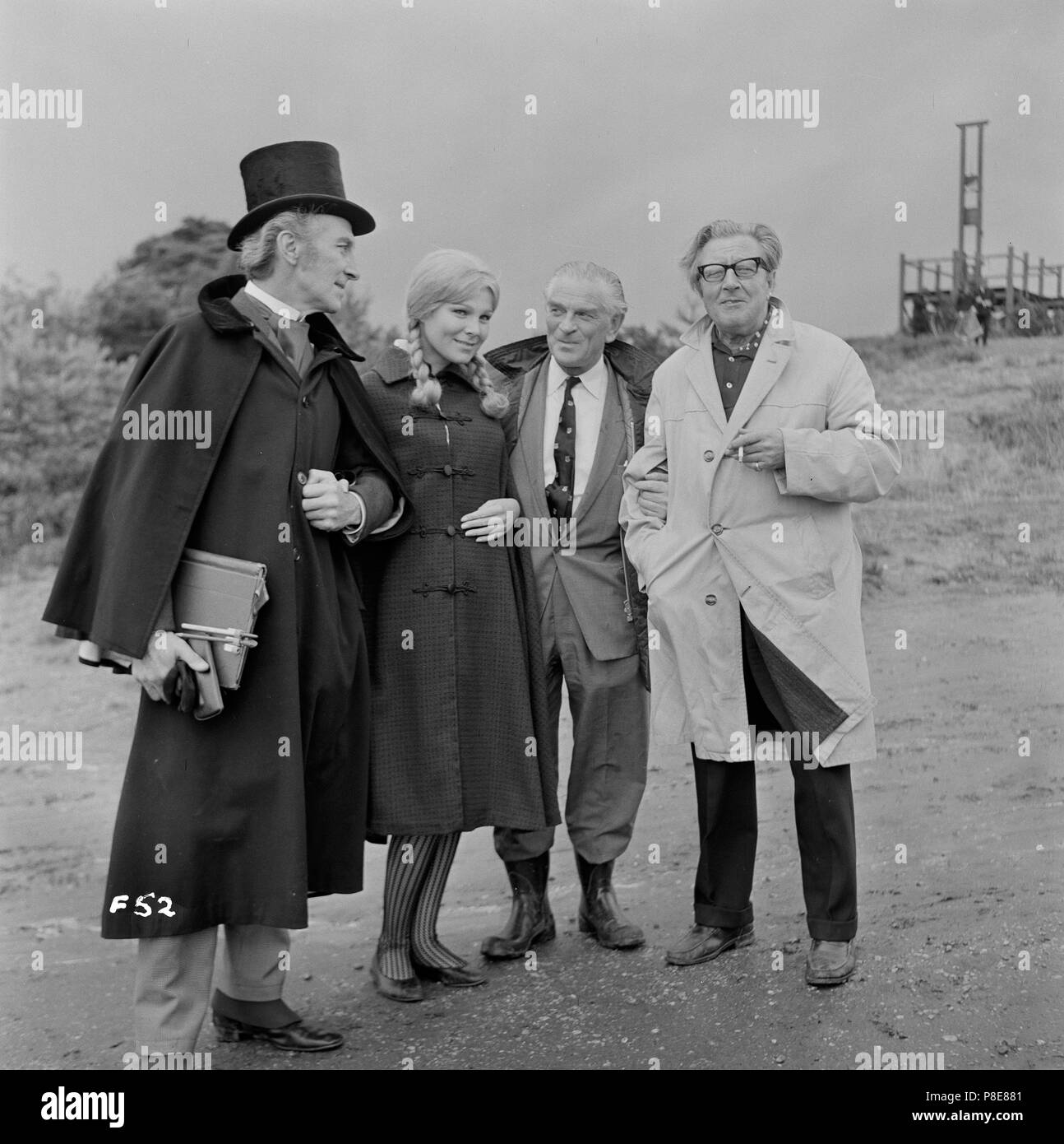 Frankenstein Created Woman (1967) Peter Cushing, Susan Denberg, Producer Anthony Nelson Keys, Film Director Terence Fisher,     Date: 1967 - Stock Image