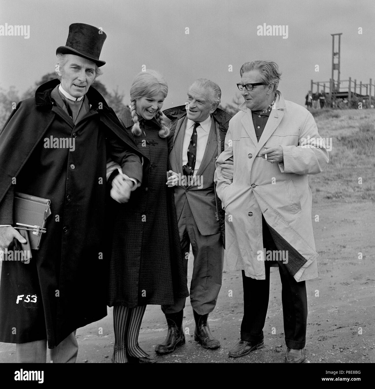 Frankenstein Created Woman (1967) Peter Cushing, Susan Denberg, Director Terence Fisher, Producer Anthony Nelson Keys,     Date: 1967 - Stock Image