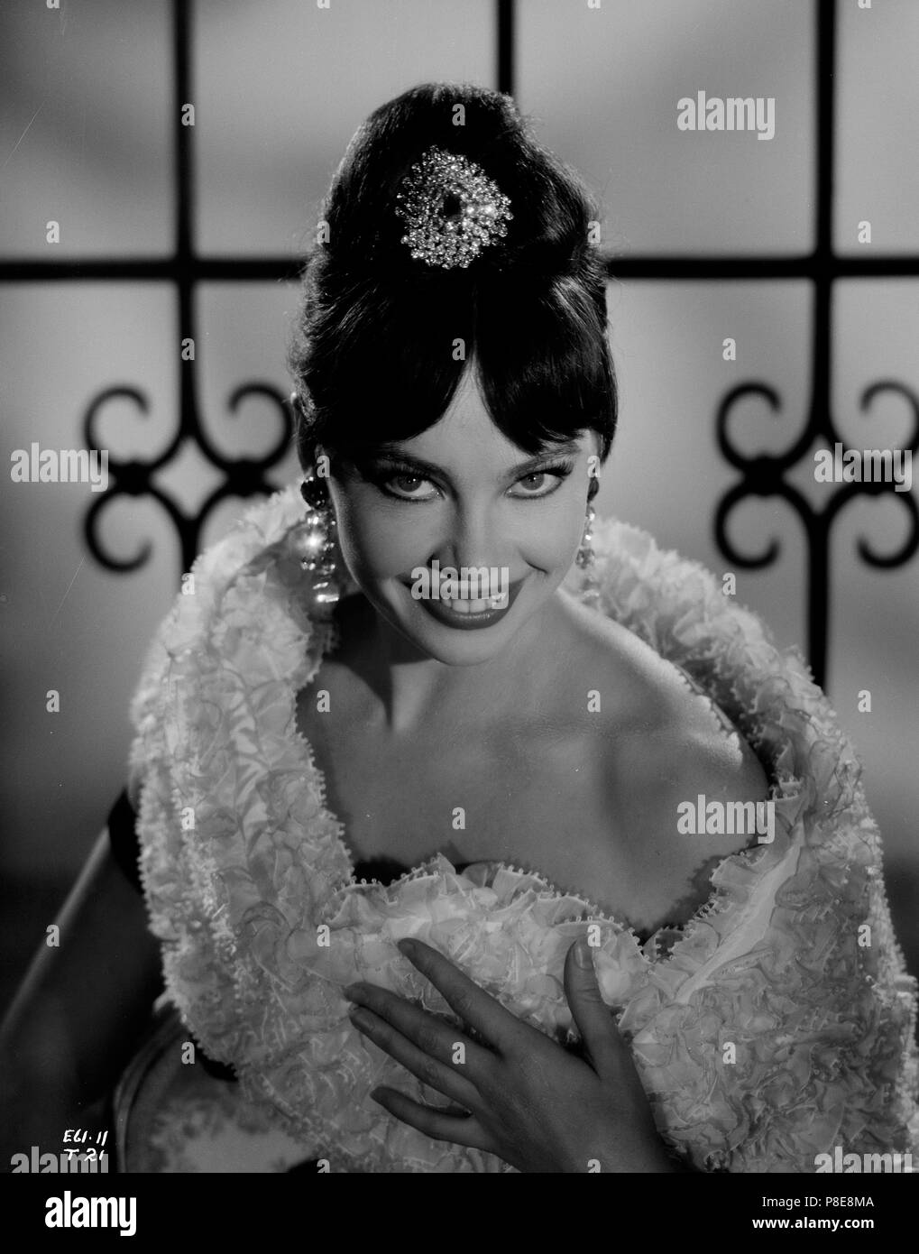 Guns of Darkness (1962) Leslie Caron,     Date: 1962 Stock Photo