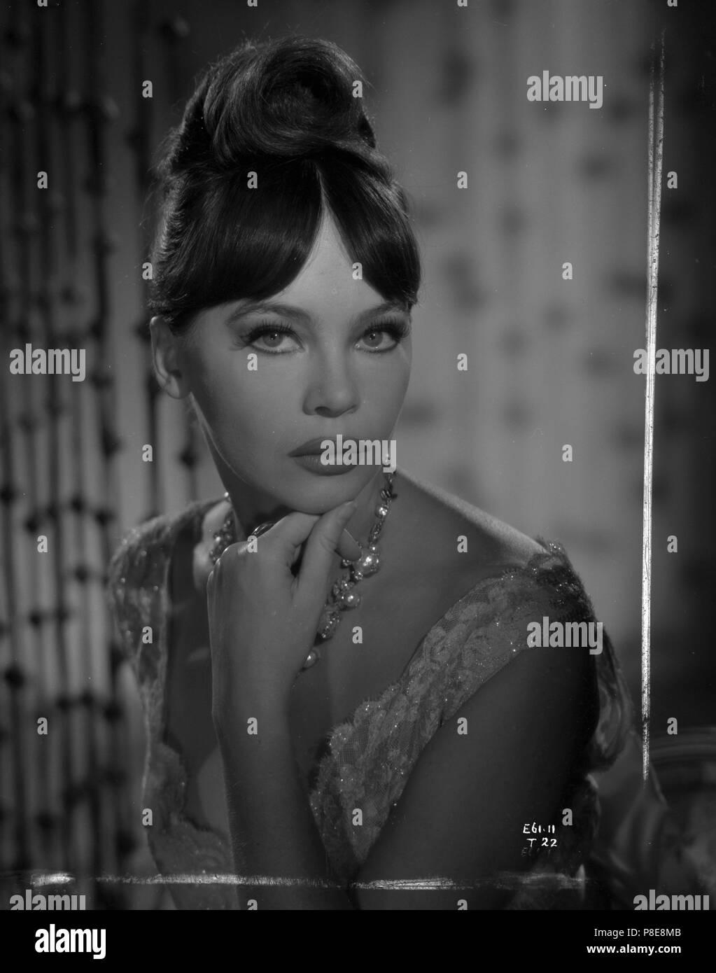 Guns of Darkness (1962) Leslie Caron,     Date: 1962 - Stock Image
