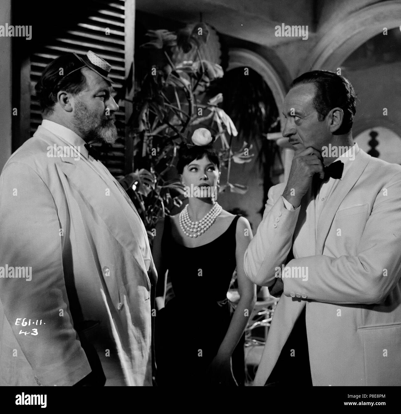 Guns of Darkness (1962) David Niven, Leslie Caron, James Robertson Justice,     Date: 1962 - Stock Image
