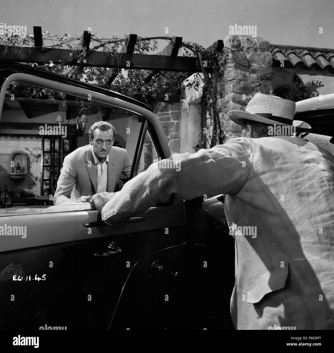 Guns of Darkness (1962) David Niven,     Date: 1962 - Stock Image