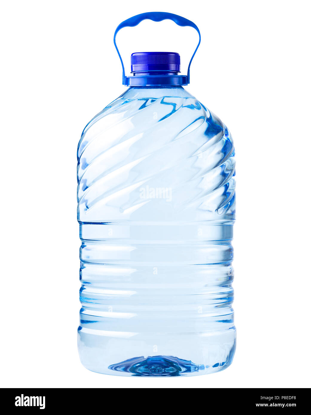 Large Bottle Mineral Water Isolated Stock Photos Amp Large Bottle Mineral Water Isolated