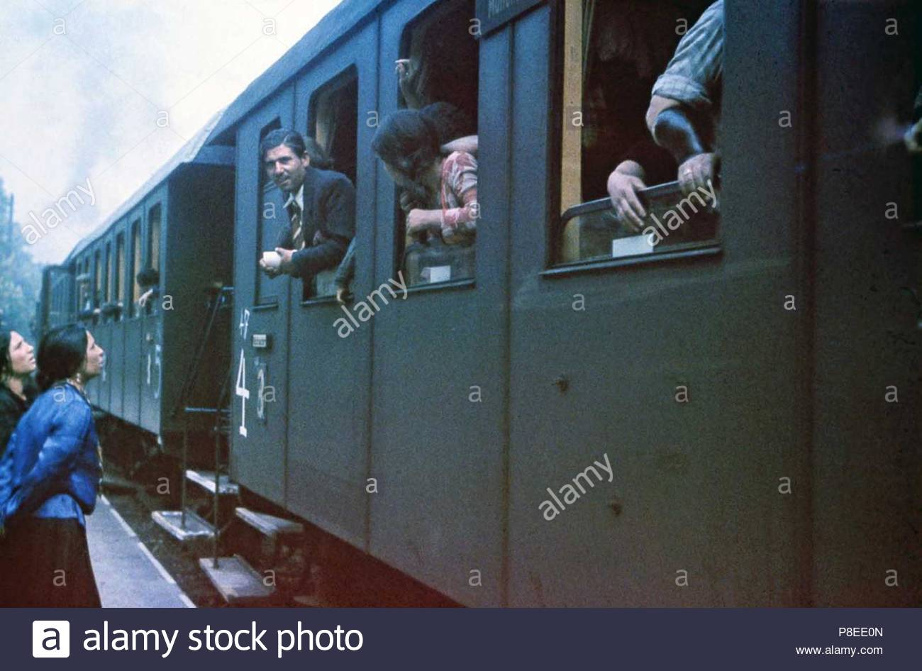 Deportation of the Roma people from Nazi Germany, 1938-1940 - Stock Image