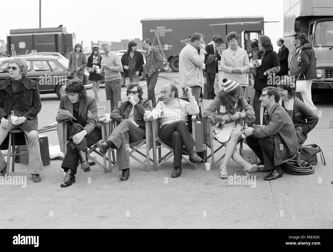 The Lovers (1973) Paula Wilcox, Richard Beckinsale, Film Director Herbert Wise,     Date: 1973 - Stock Image