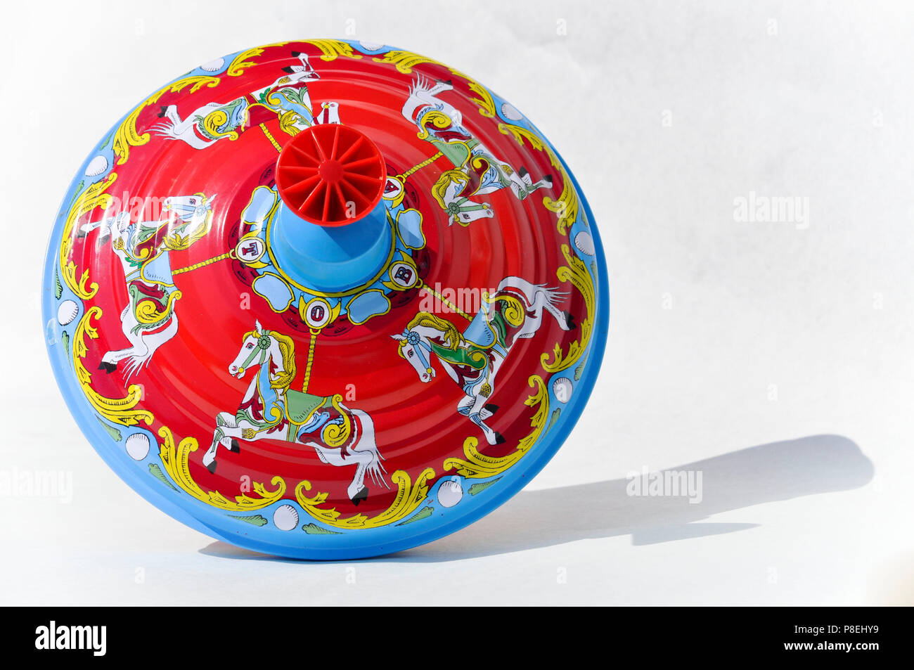 Spinning top - Stock Image
