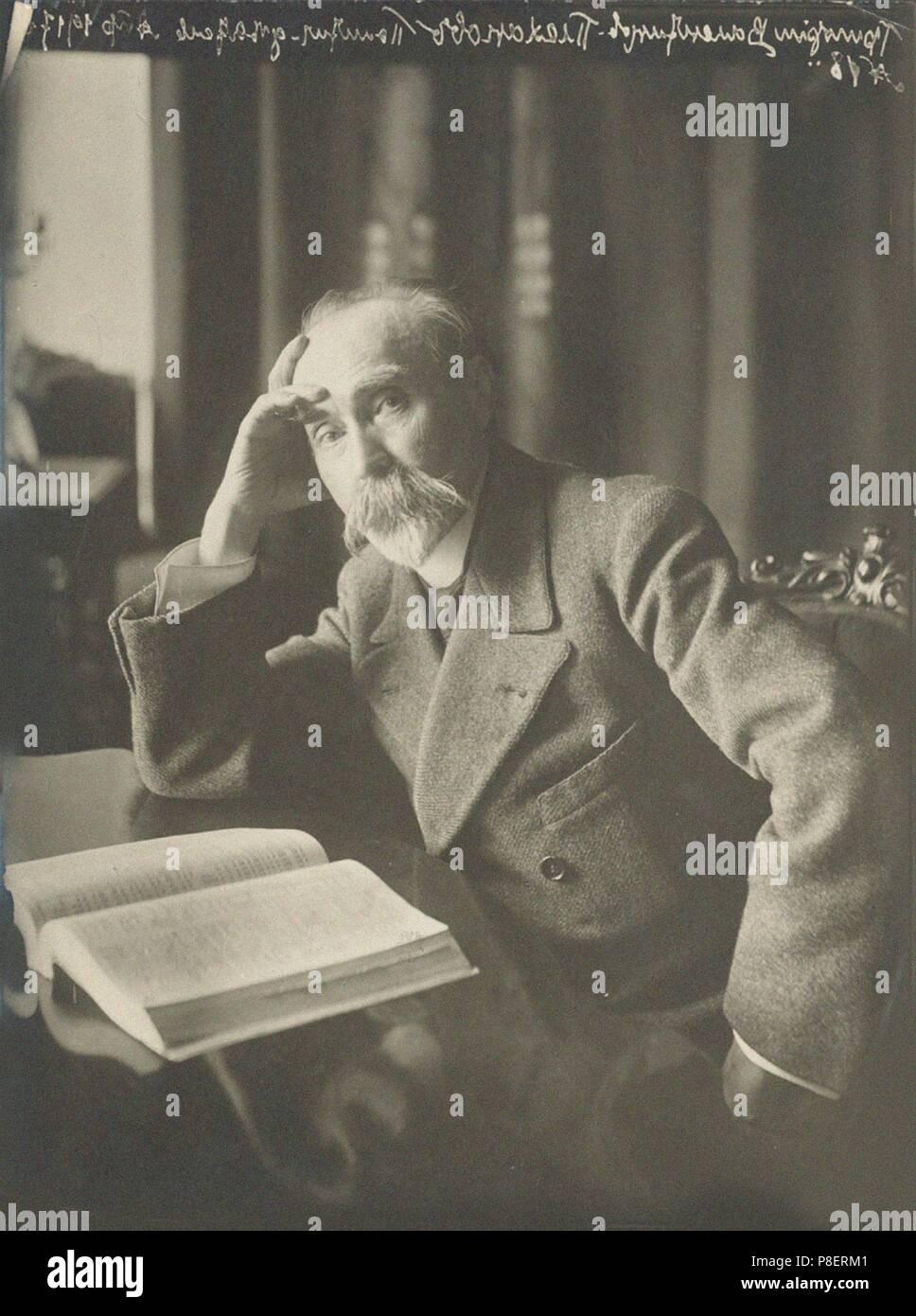 Georgi Valentinovich Plekhanov (1856-1918), Petrograd. Museum: Russian State Historical Library, Moscow. - Stock Image
