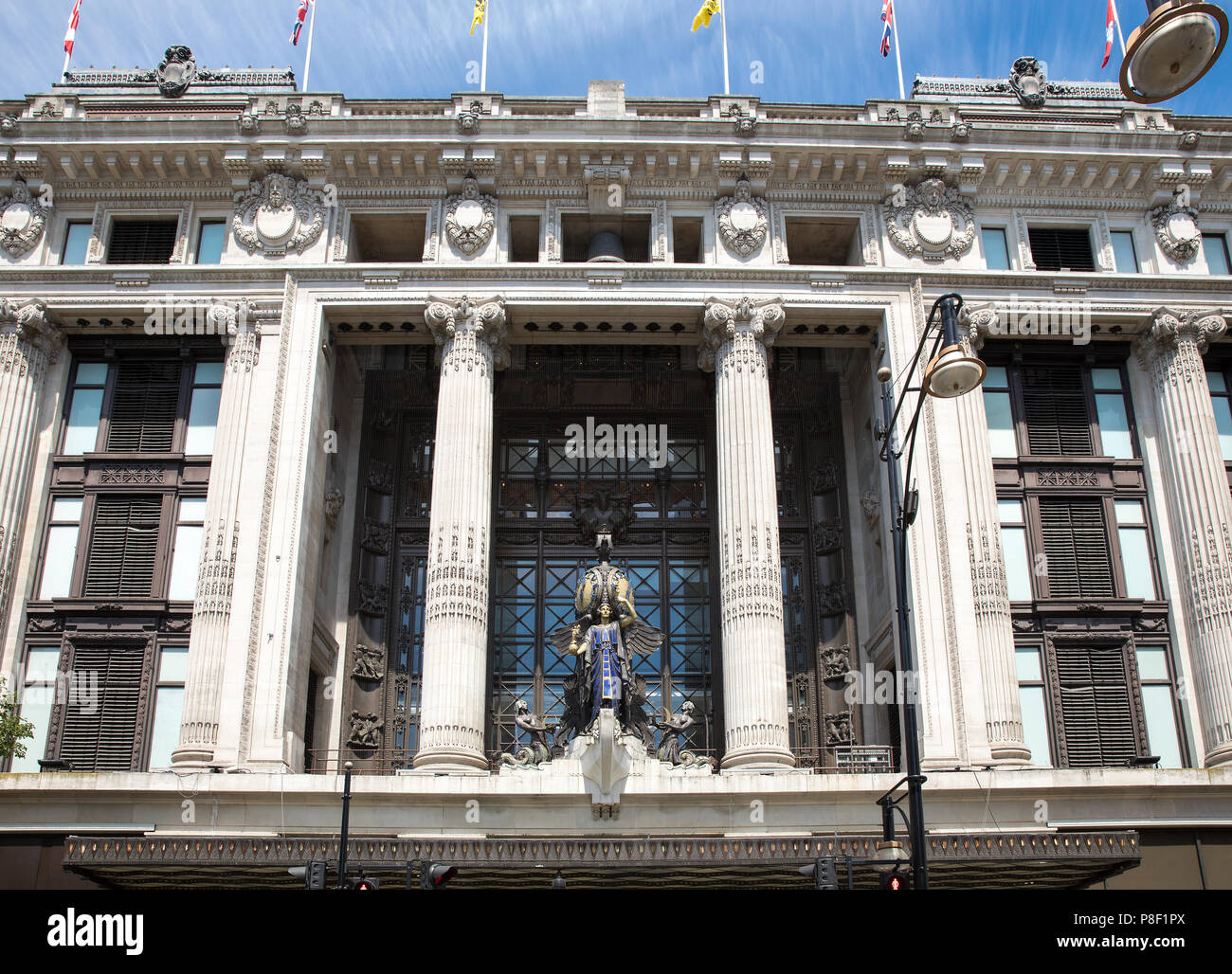 Selfridges in Oxford Street, London. - Stock Image