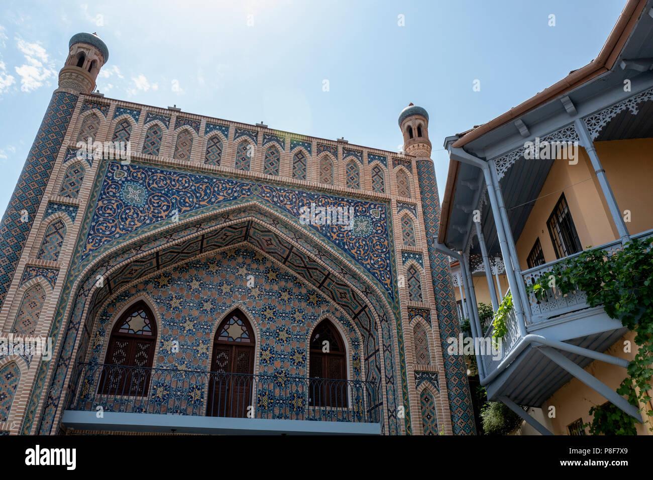 Tbilisi mosque in old town Tbilisi, Georgia Stock Photo