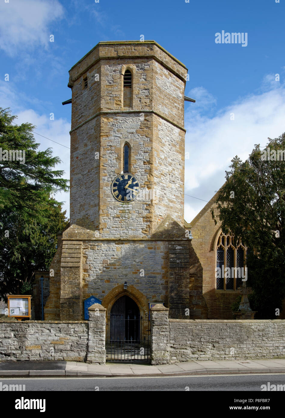 St Mary Major Church, Ilchester, South Somerset - Stock Image