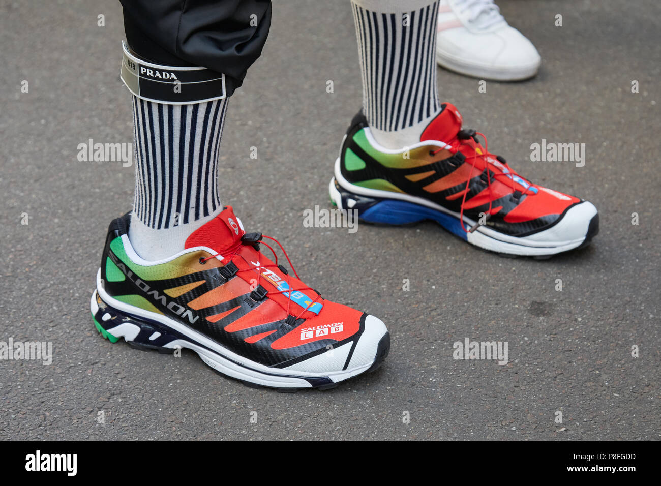 Salomon Shoes High Resolution Stock