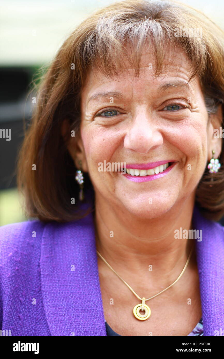 Ros Altmann CBE The Right Honourable The Baroness Altmann pictured in the City of Westminster on 10th July 2018. Rosalind Miriam Altmann. - Stock Image