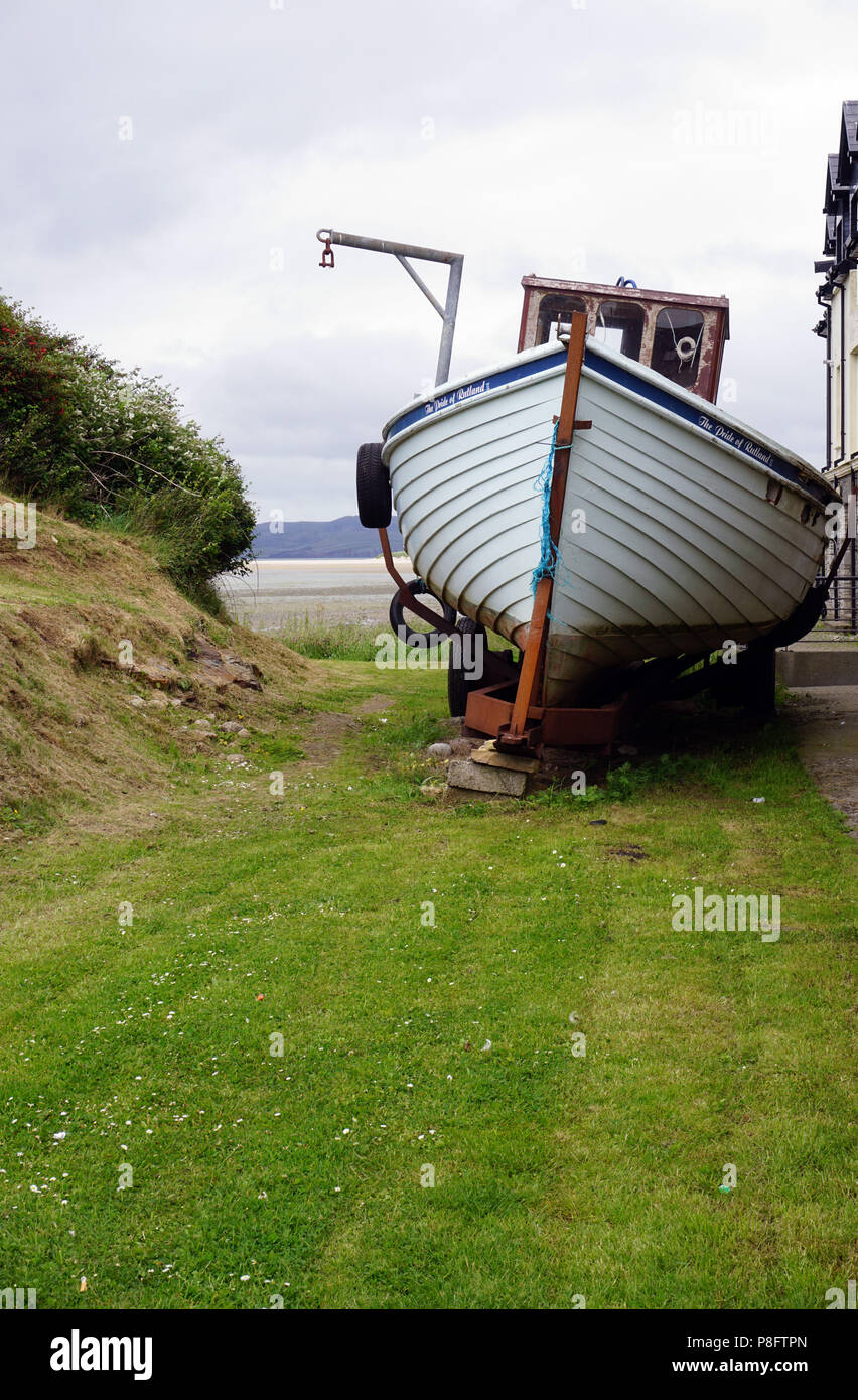 Dunfanaghy County Donegal Ireland Boat - Stock Image