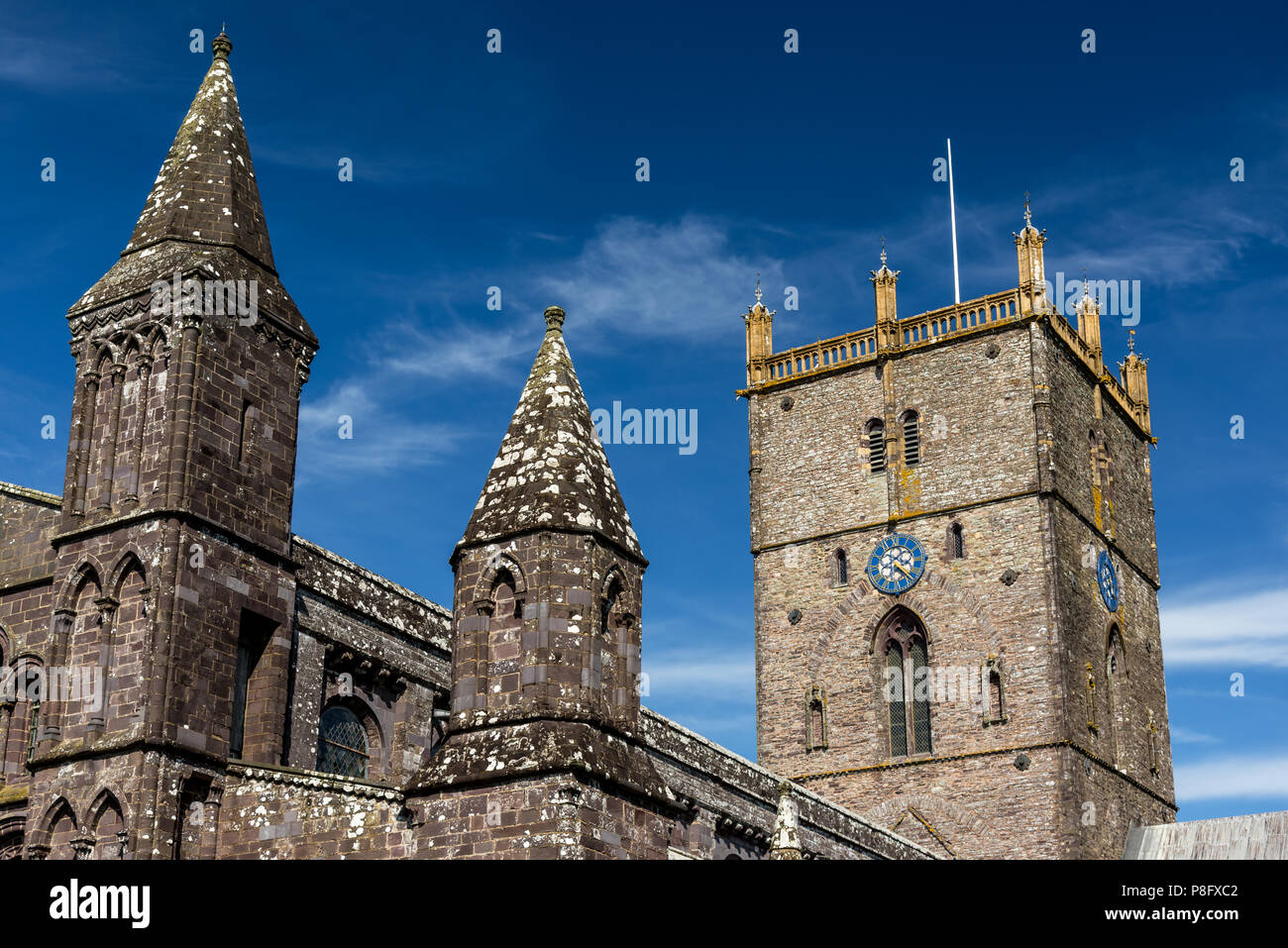 St. David's Cathedral - Stock Image