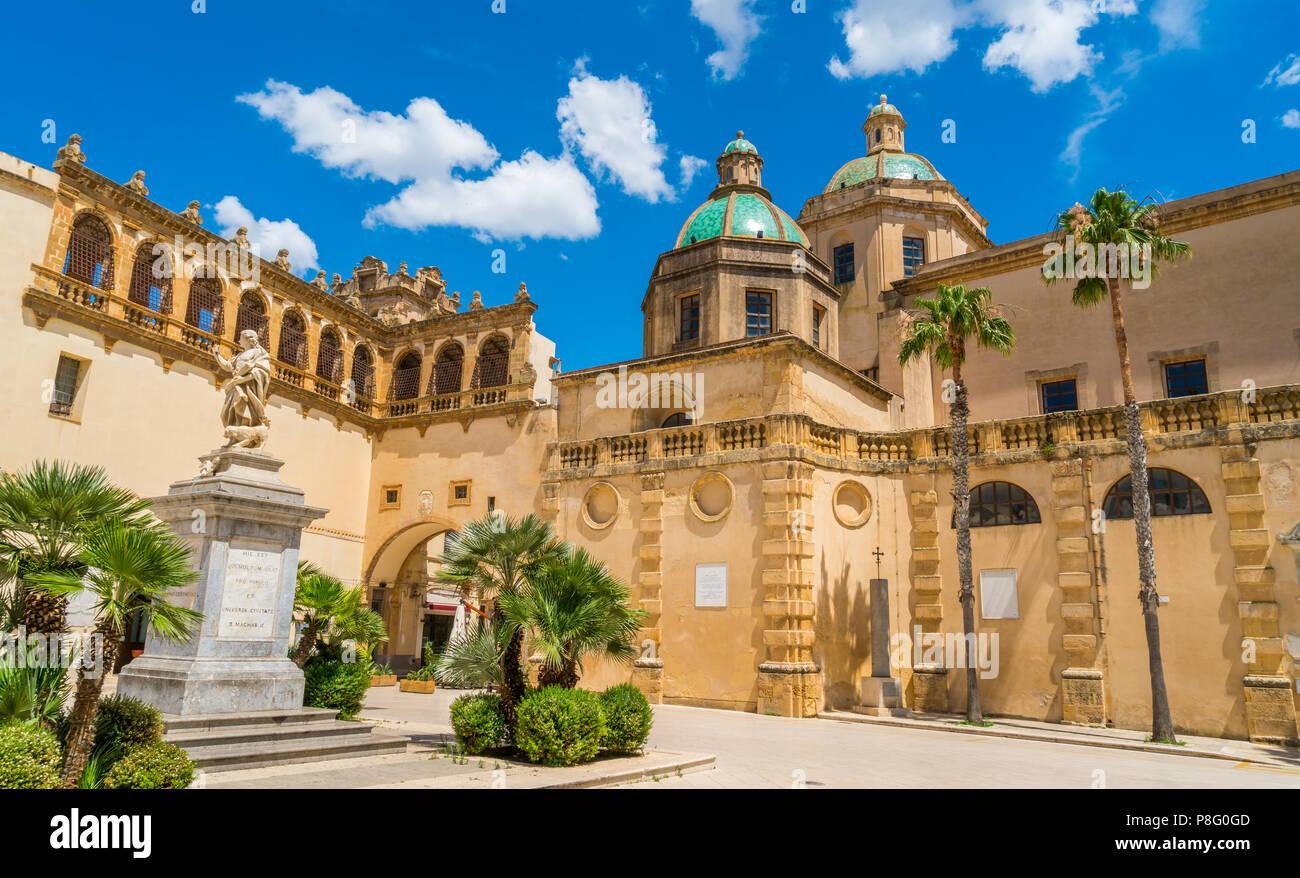 Mazara Del Vallo Town In The Province Of Trapani Sicily Southern Italy Stock Photo Alamy