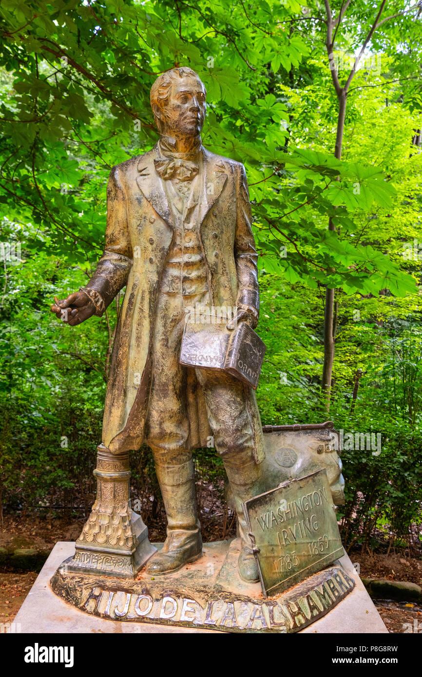 Washington Irving Alhambra Stock Photos Washington Irving