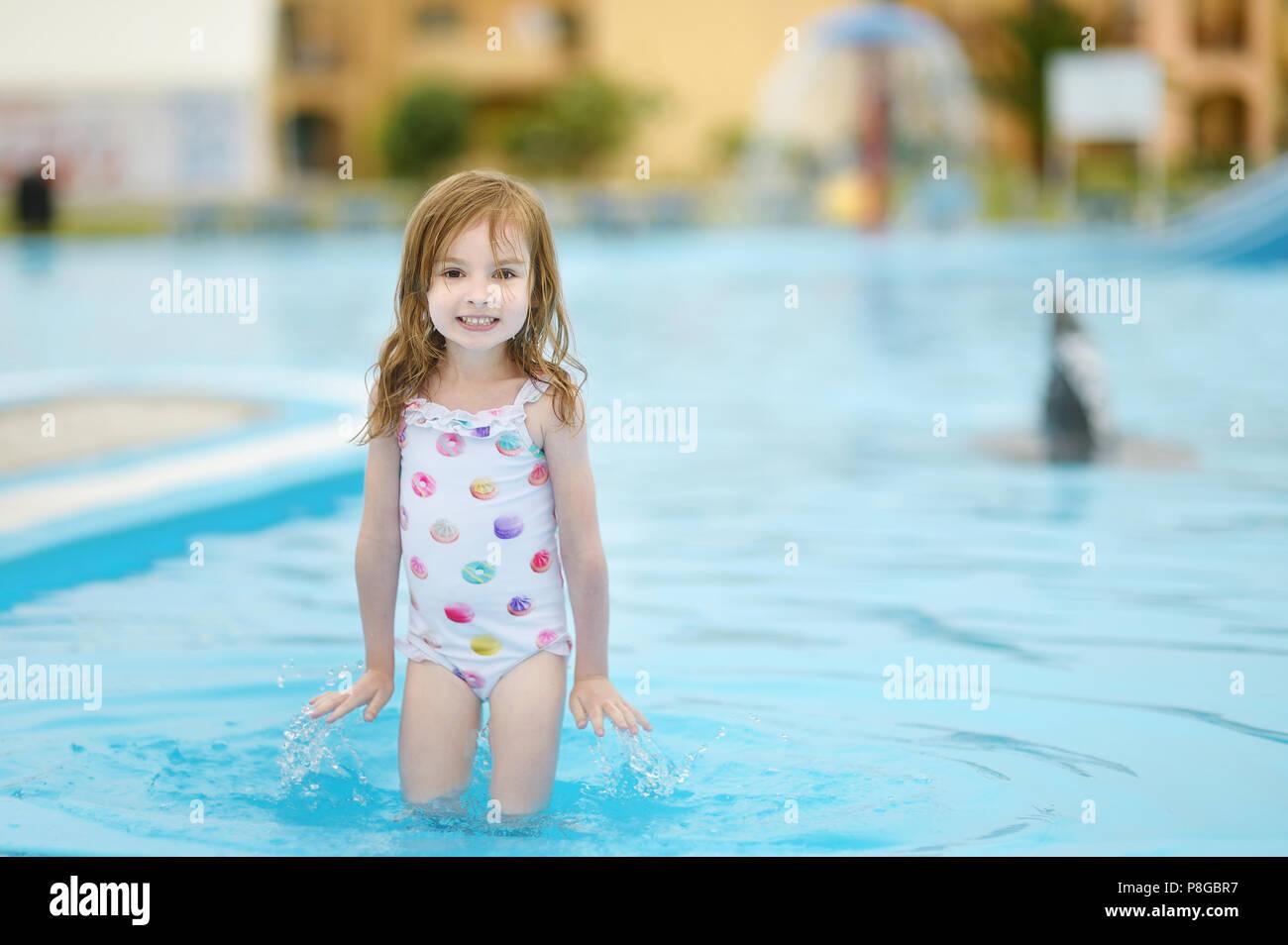 pretty girls swimming pool for kids