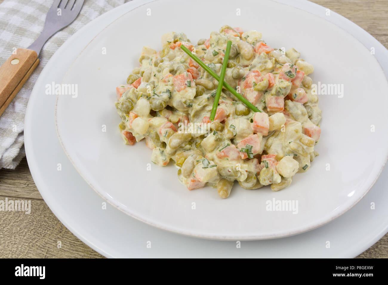 macedonian vegetable - Stock Image