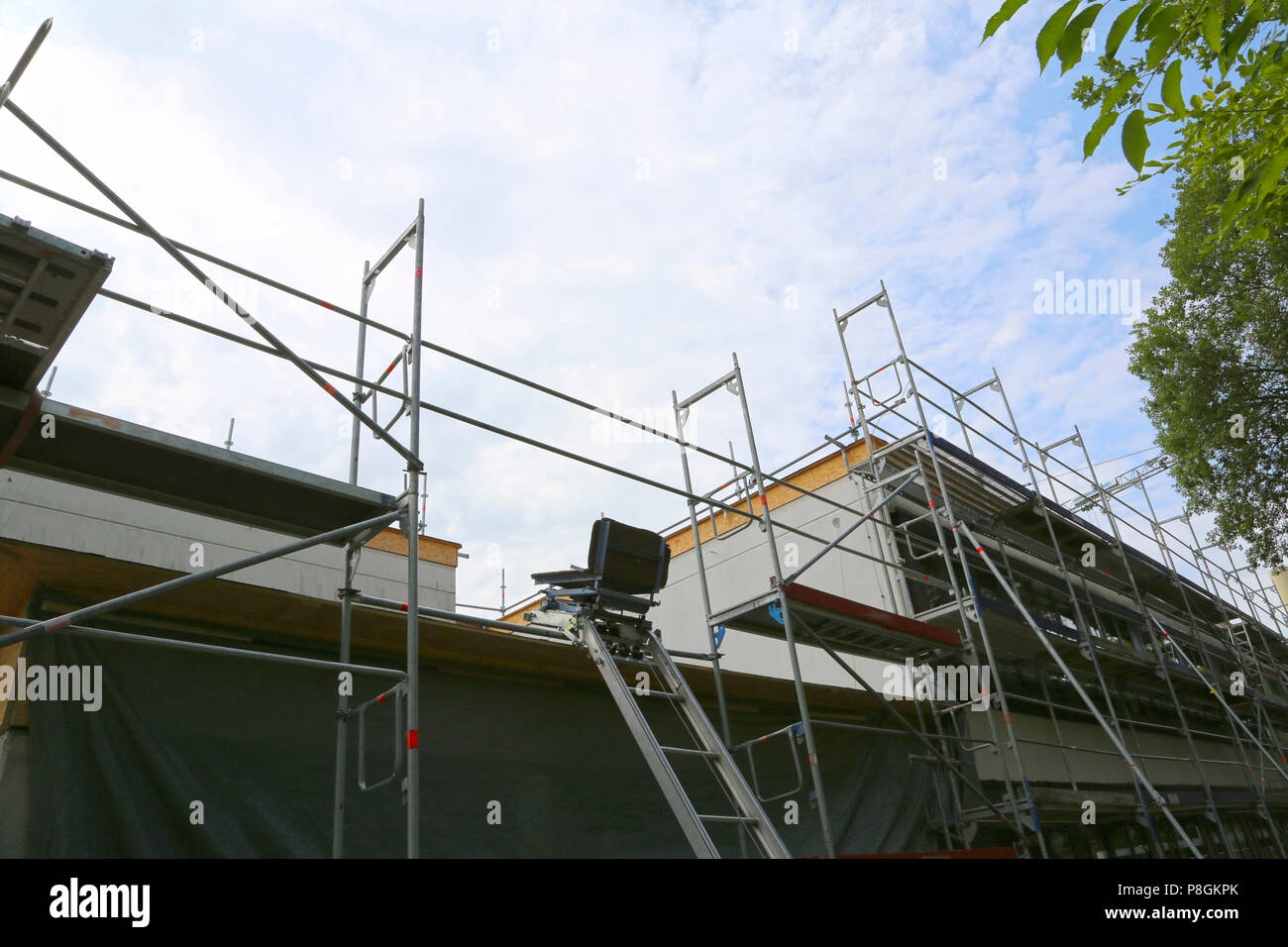 Repair Of The Building, Construction Chair Lift And ...