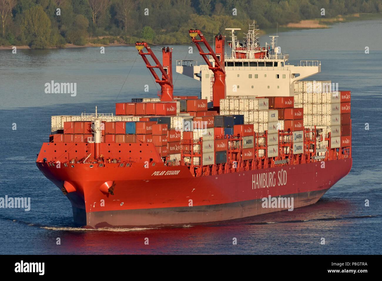Polar Ecuador's maiden call to HamburgStock Photo