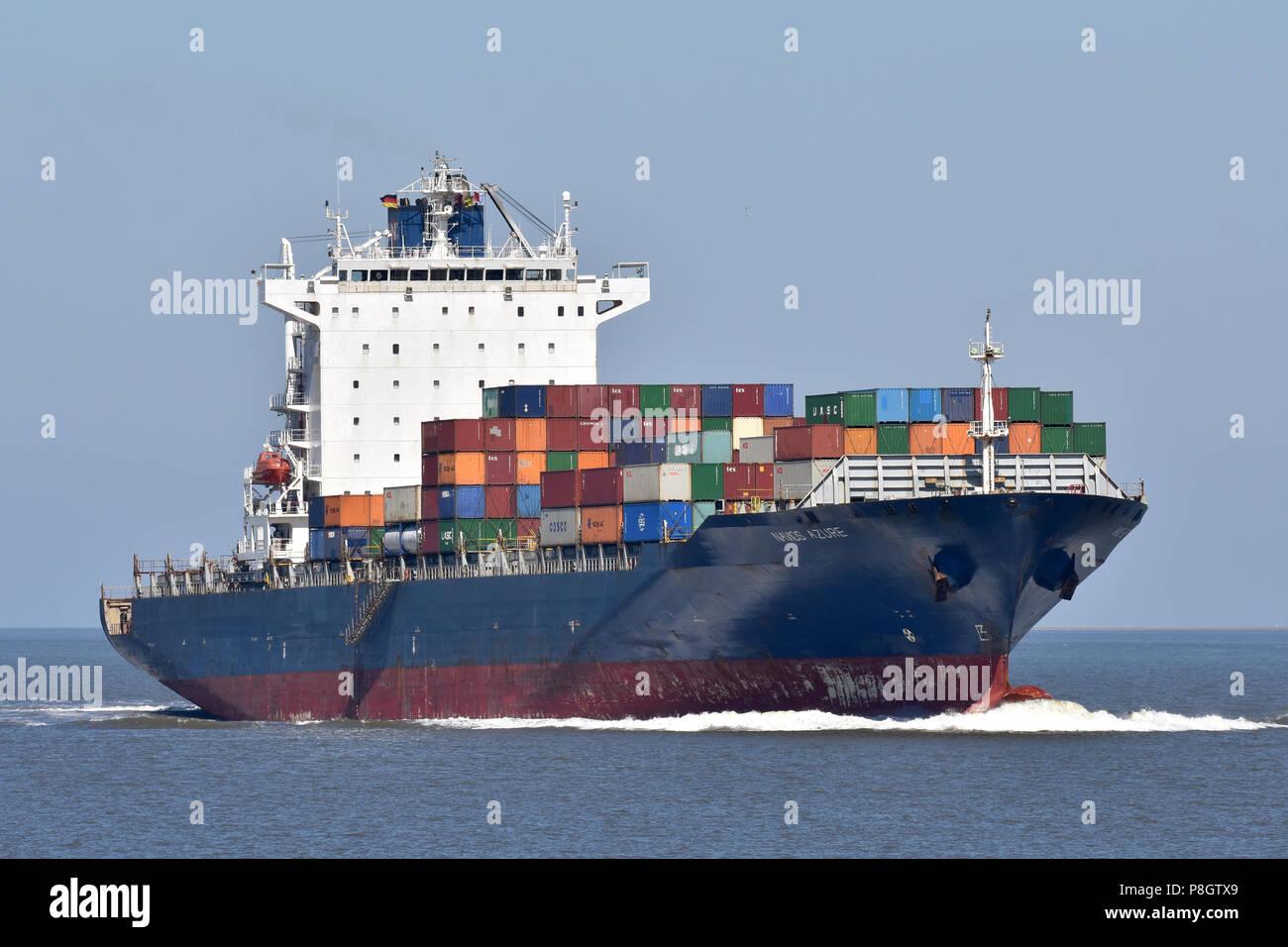 Navios Azure Stock Photo