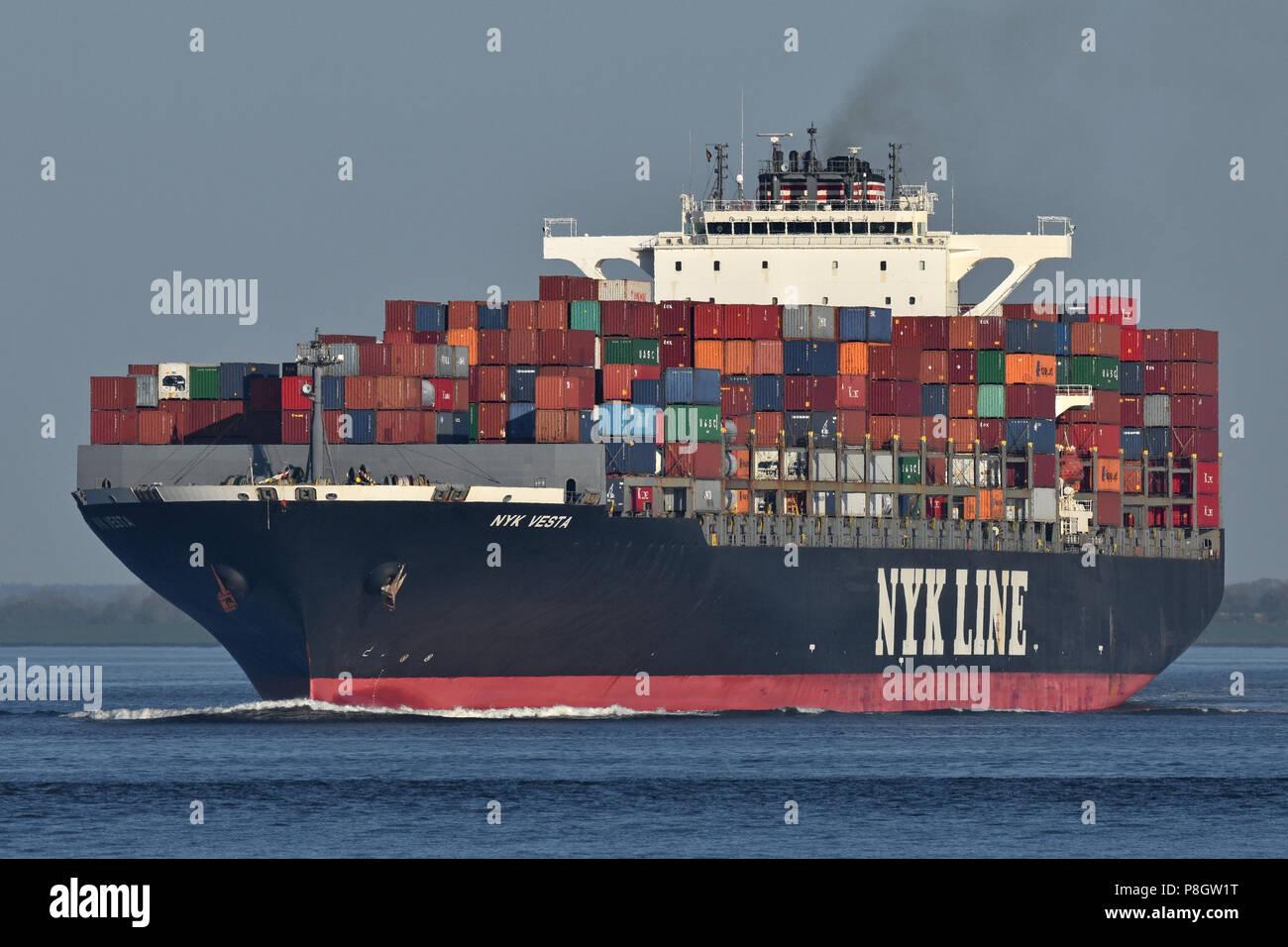 NYK Vesta Stock Photo