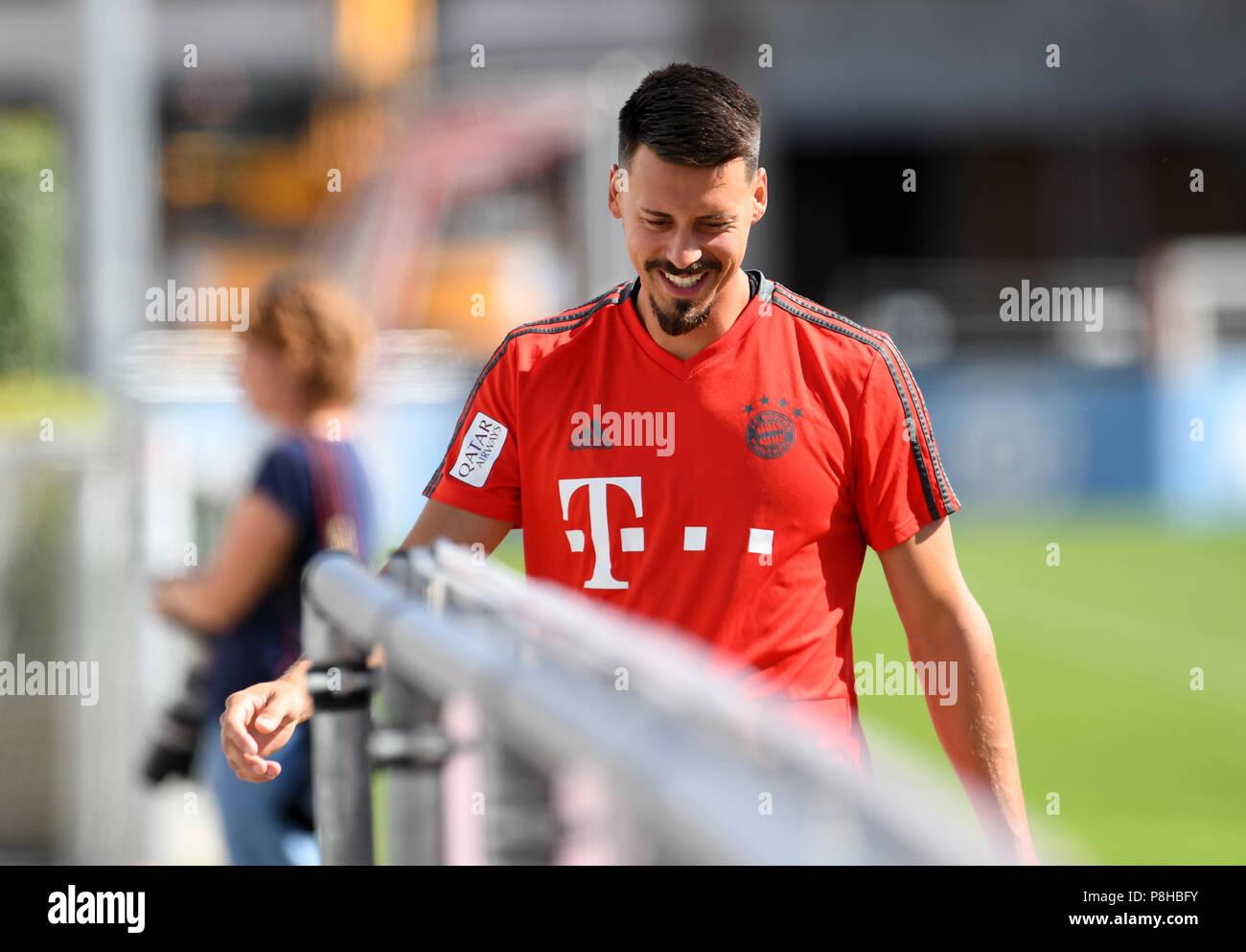 Munich Germany 12th July 2018 Bundesliga Fc Bayern Munich