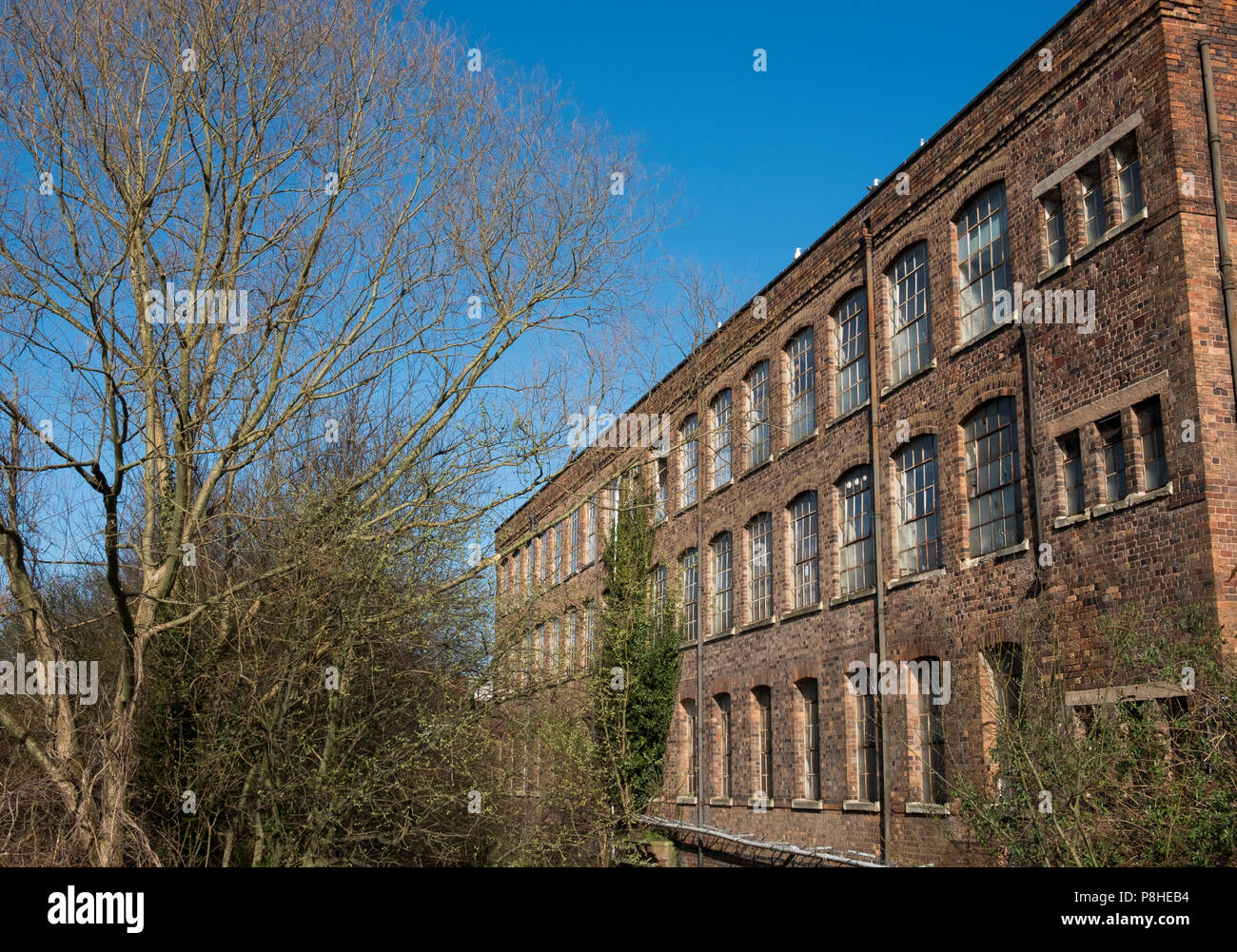 Old factory and warehouses, Kidderminster, Worcestershire, England, Europe