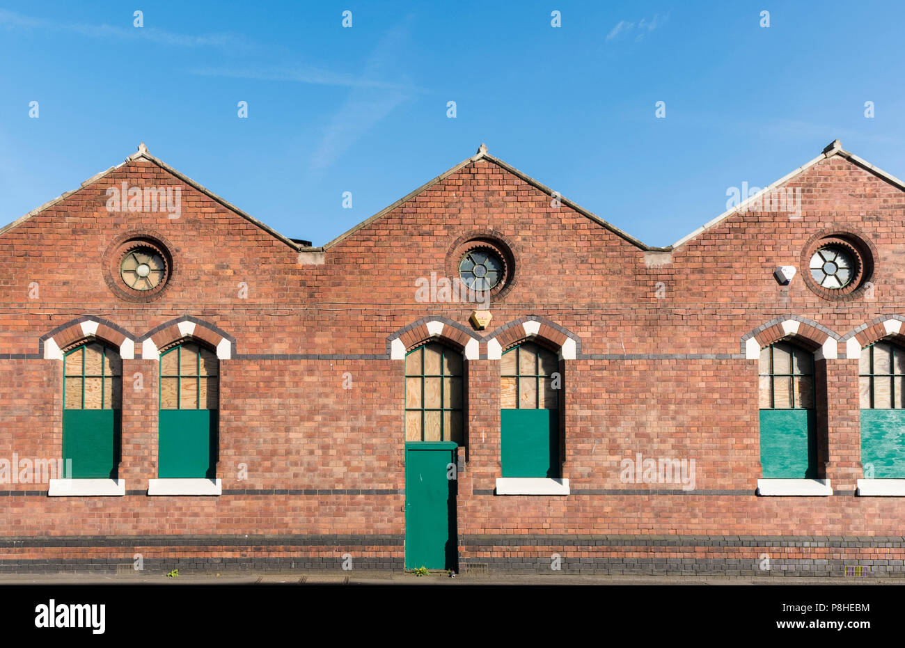 Old carpet making factory and warehouses, Kidderminster, Worcestershire, England, Europe