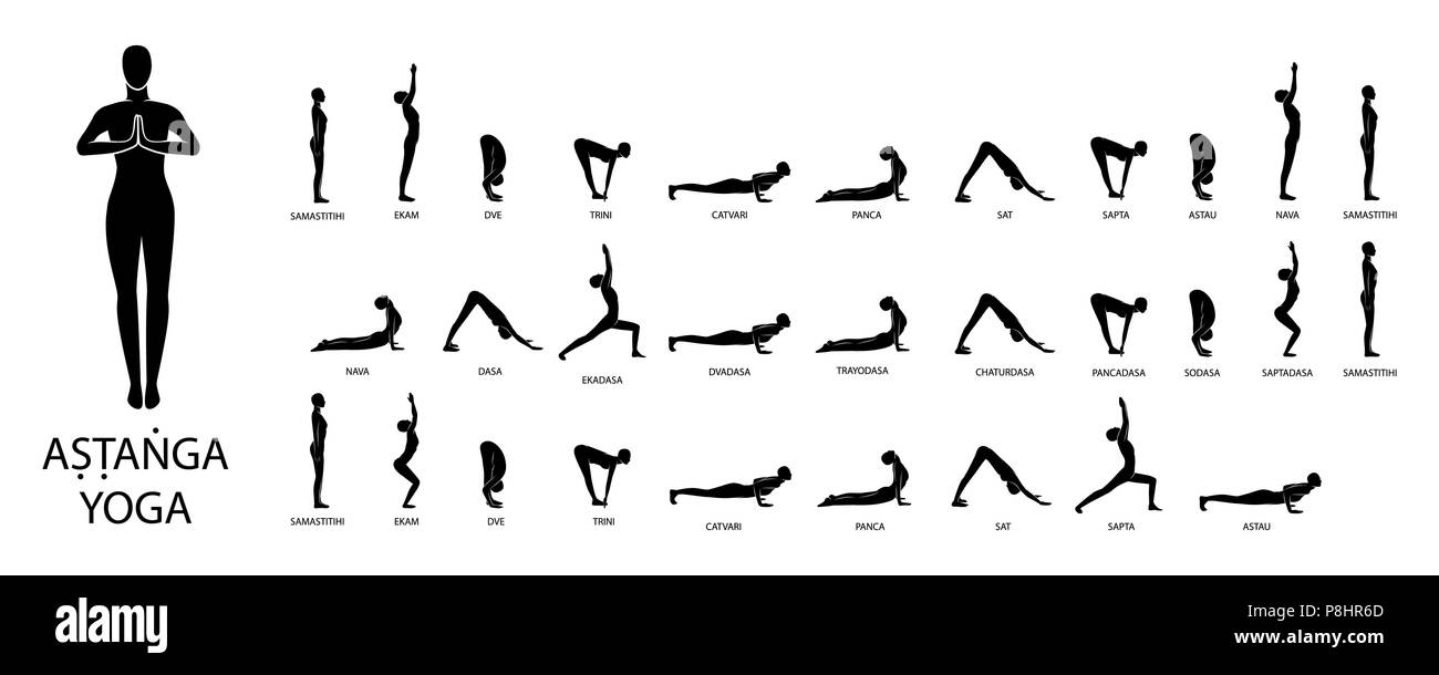 Ashtanga Yoga High Resolution Stock Photography And Images Alamy