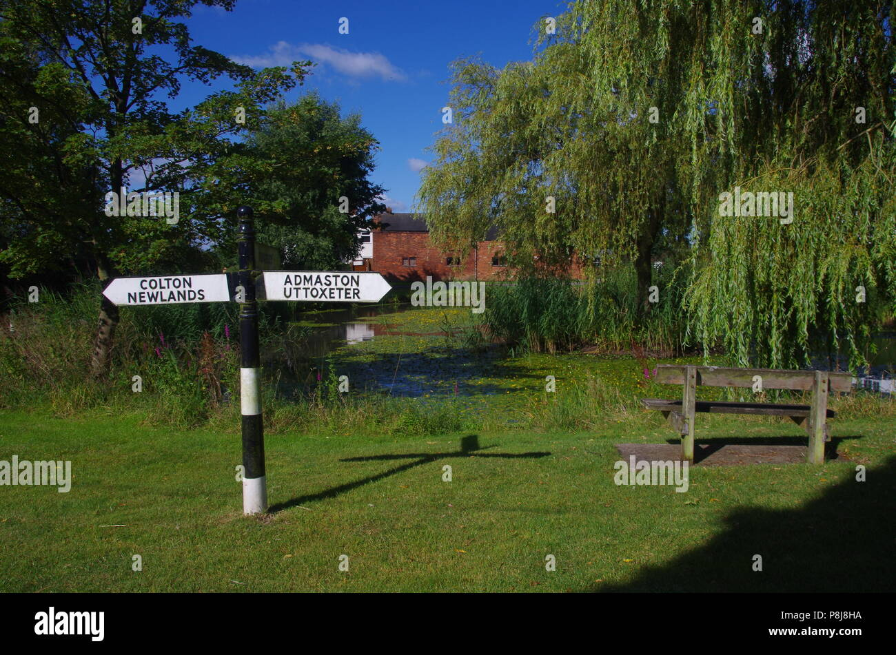Stockwell Heath.Cross Britain Way. John o' groats (Duncansby head) to lands end. End to end trail. England. UK - Stock Image