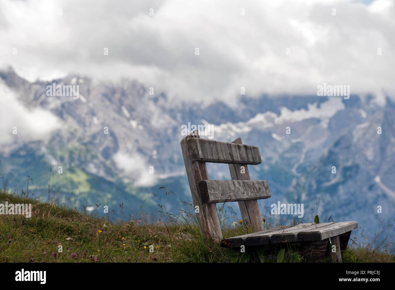 Alp Mountains near Garmisch-Partenkirchen. - Stock Image