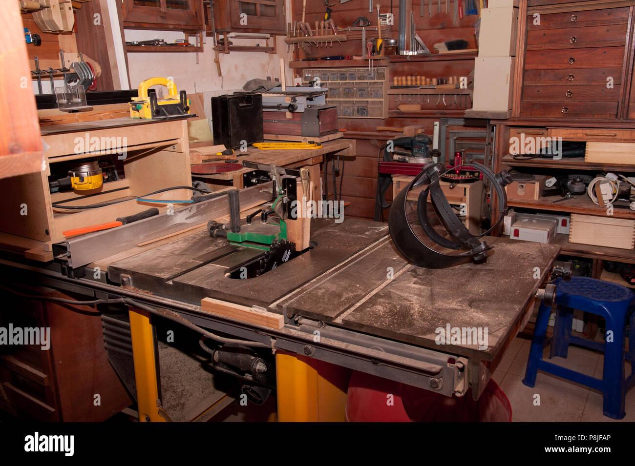 workshop - Stock Image