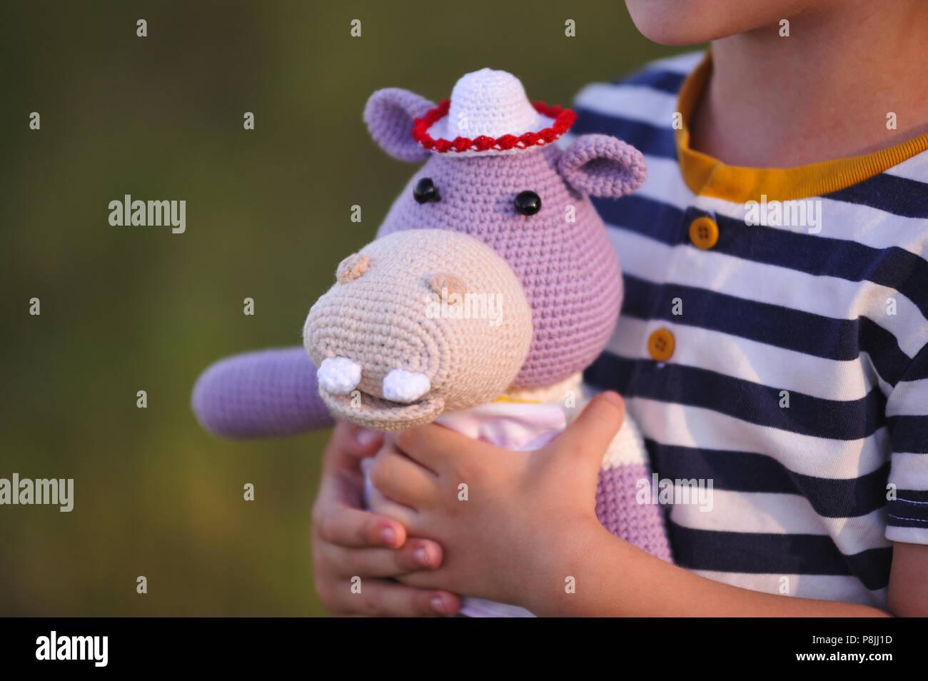 Hippo - PATTERN - Hippo - crochet - Amigurumi Hippo pattern ... | 955x1300