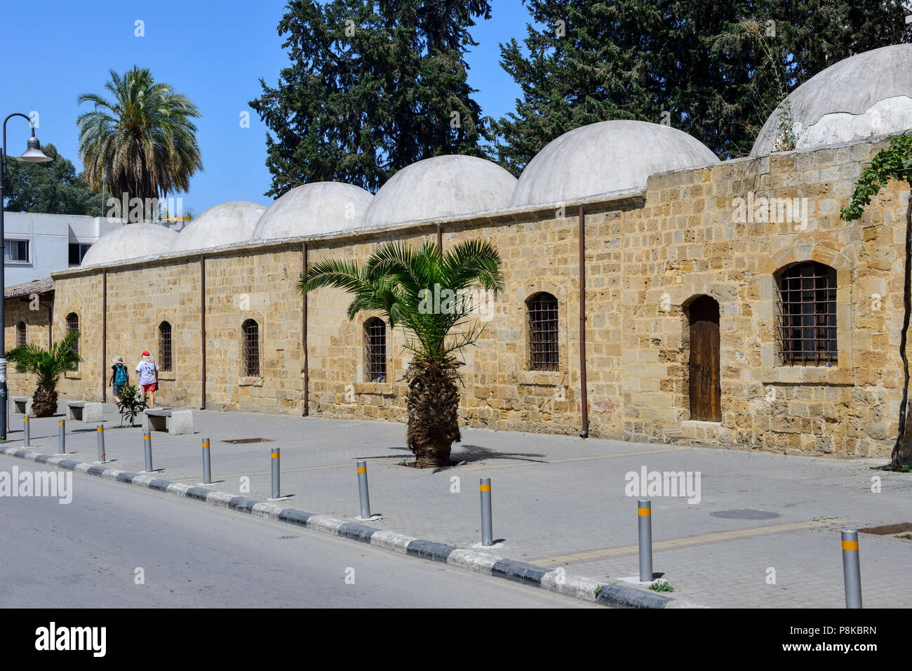 Mevlevi Tekke Museum, a former 17th Century Tekke of the Mevlevi Order, in North Nicosia (Lefkosa), Turkish Republic of Northern Cyprus - Stock Image