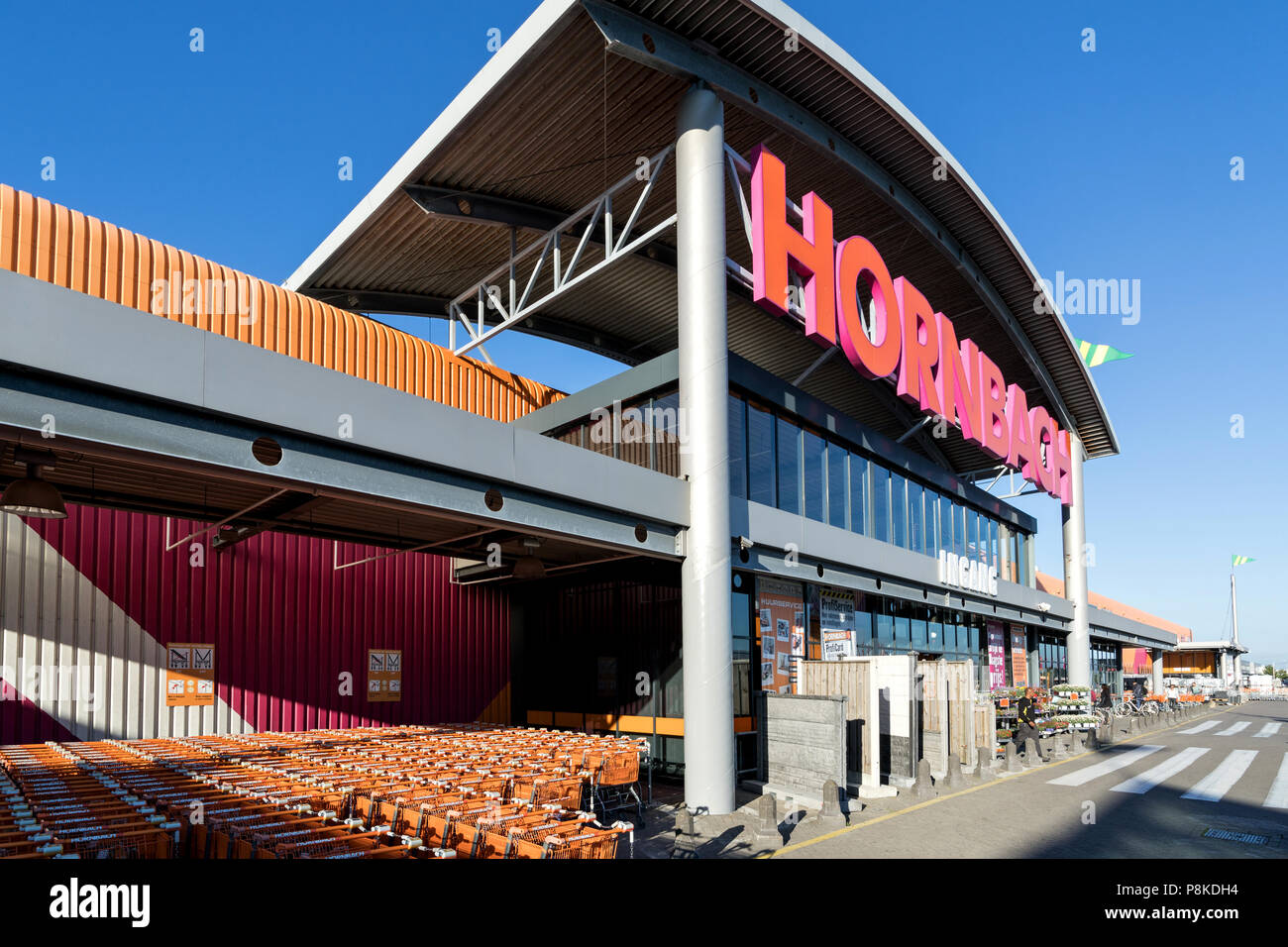 Hornbach hardware store in wateringen the netherlands hornbach is hornbach hardware store in wateringen the netherlands hornbach is a german diy store chain offering home improvement and do it yourself goods solutioingenieria Choice Image