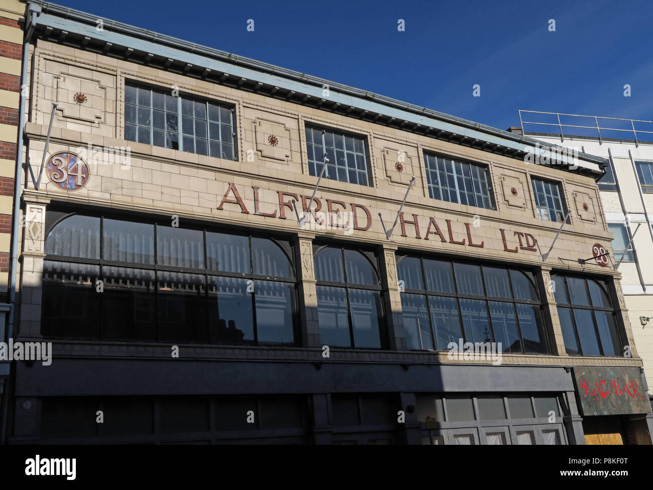 Alfred Hall Ltd building, Silver Street, Doncaster, South Yorkshire, England ,  DN11HT - Stock Image