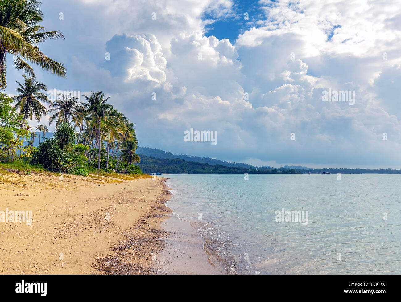 Surprisingly beautiful nature of Thailand. - Stock Image