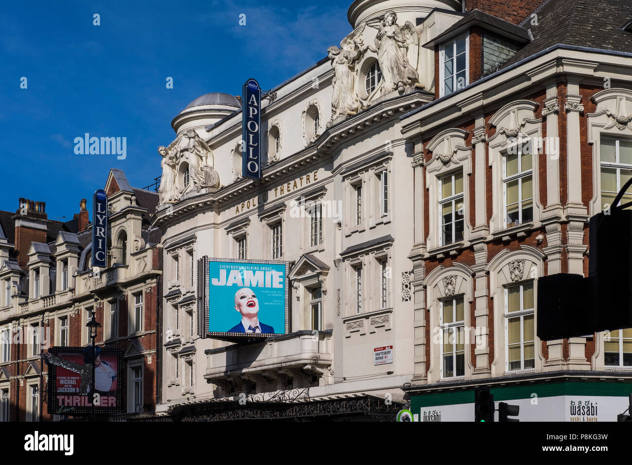 Everybody's Talking About Jamie musical, Apollo Theatre, London, England, U.K. - Stock Image