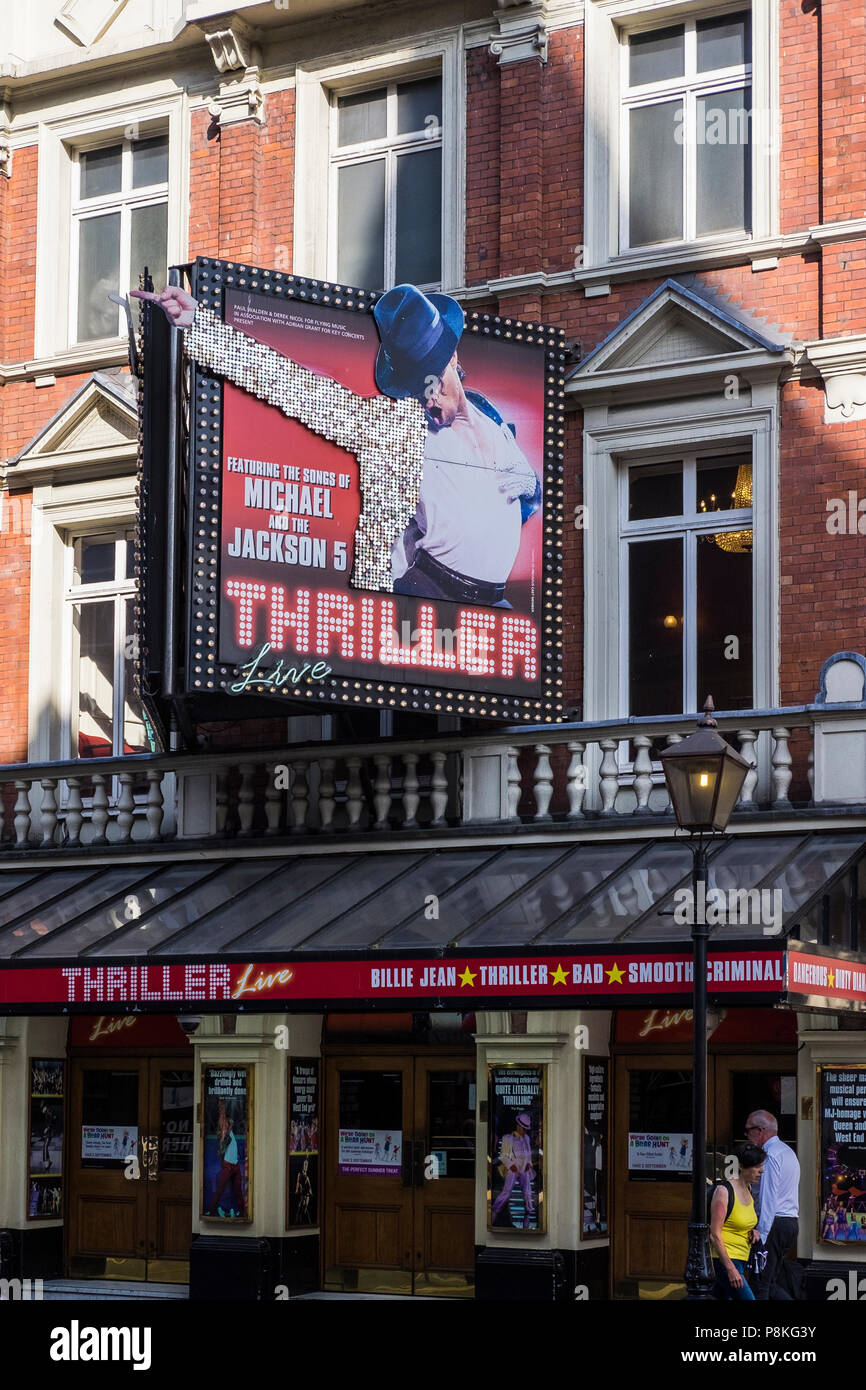 Thriller Live, Lyric Theatre, London, England, U.K. - Stock Image