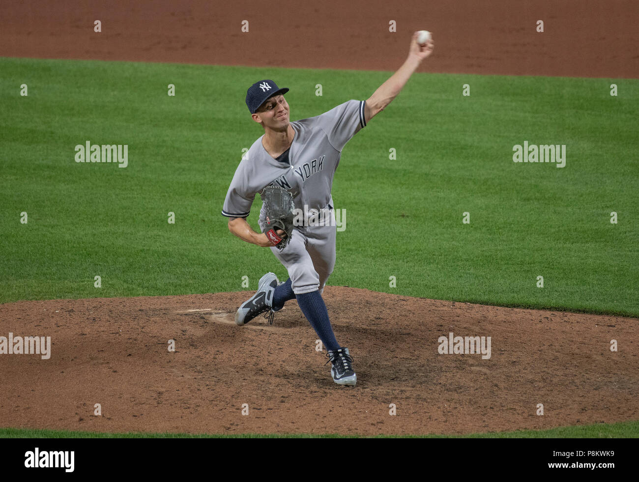 515867948 New York Yankees relief  New York Yankees relief pitcher Chasen Shreve ...