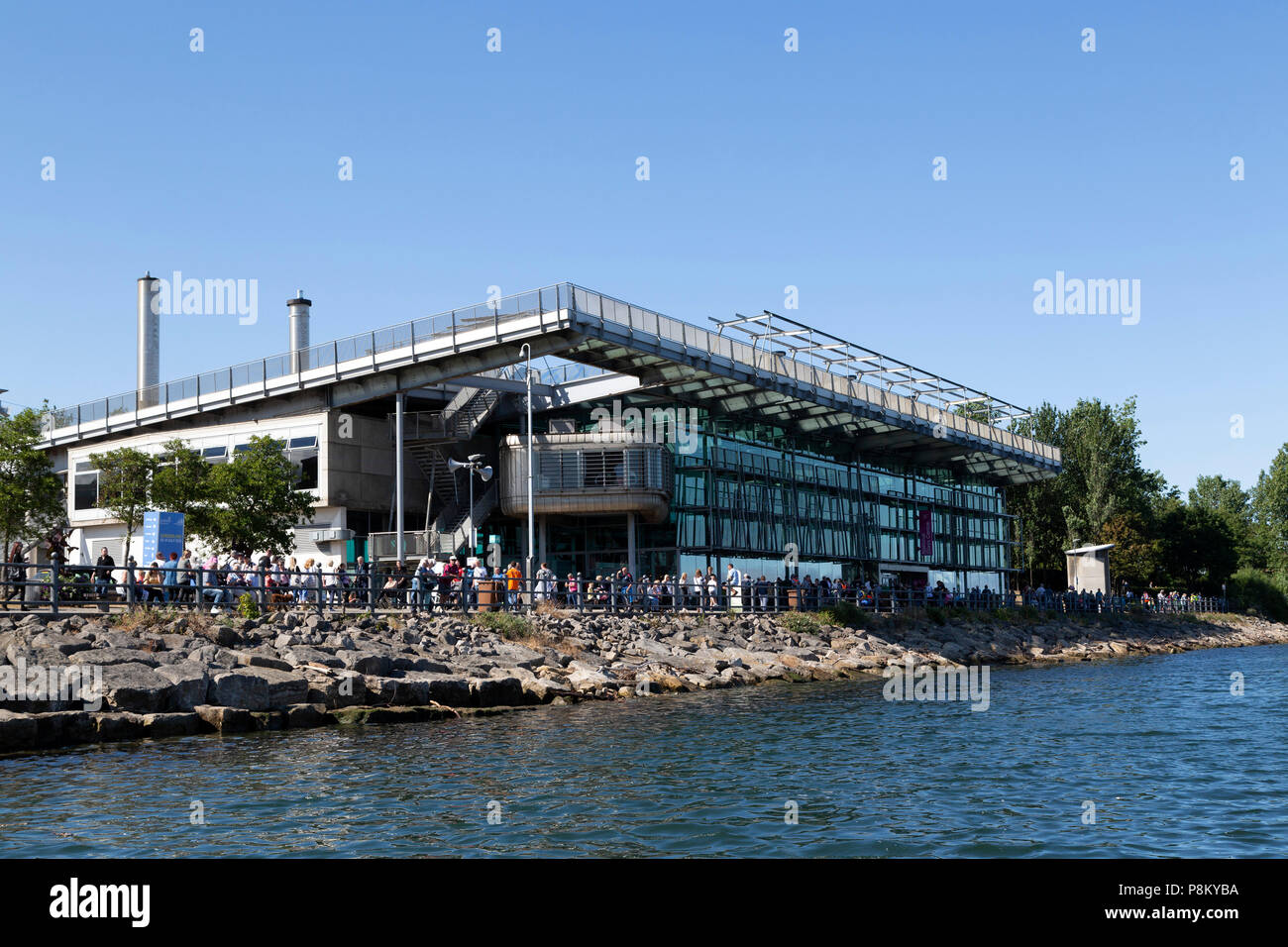 Sunderland, UK. 12th July, 2018. The National Glas Centre during the ...